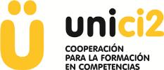 Una u con diéresis y la leyenda Unici2: cooperación para la formación en competencias