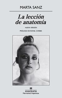 Portada de La lección de anatomía de Marta Sanz