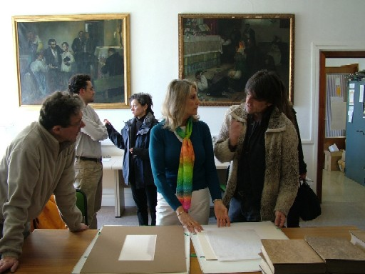Biblioteca complutense acci n tres dibujos de madrid for Fernando porras arquitecto