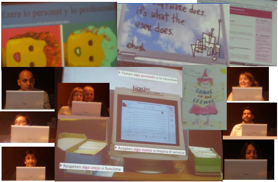 Percepciones sobre la web social FESABID 2009