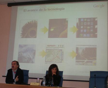 Diapositiva sobre el avance de la tecnología