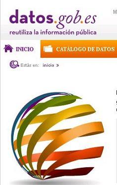 Logo y parte cabecera de la web