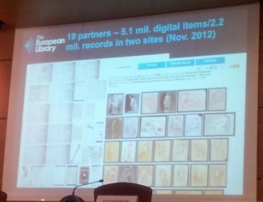 Imagen con número de socios, colecciones... e imágenes de dibujos de Bellas Artes de la colección de la UCM