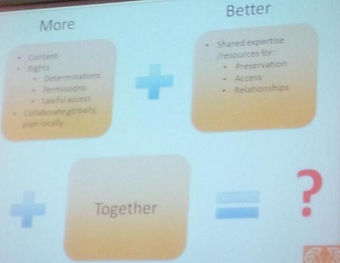 More + Better + Together con sus claves