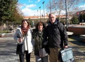 Elena Cob, Alejandra Nardi y Honorio Penadés