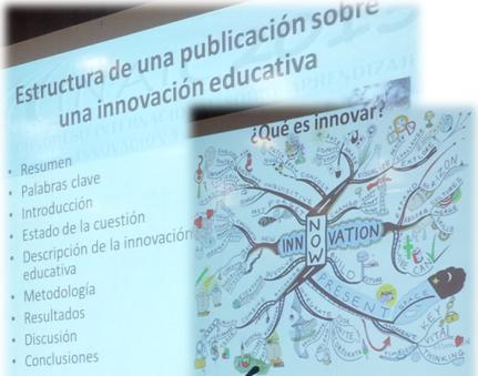 Fusión de dos diapositivas: la de la estructura y la de qué es innovar