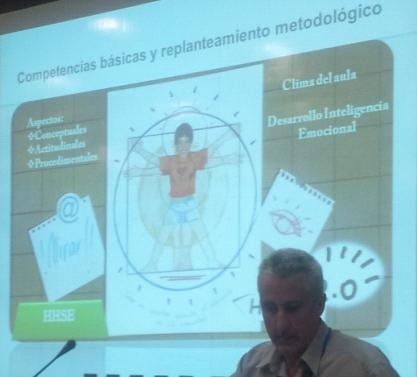 Diapositiva con alumno en el centro