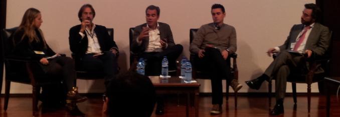 Laia, Luis Martín, Javier, Álvaro y Manuel