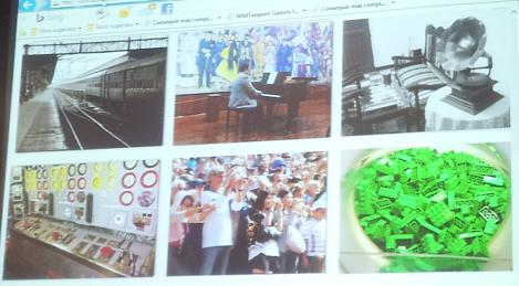 Recorte de página web con las 6 imágenes mencionadas