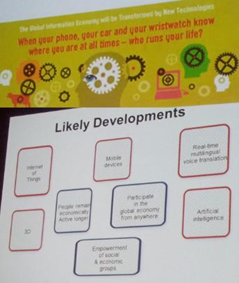 Mención de los principales desarrollos