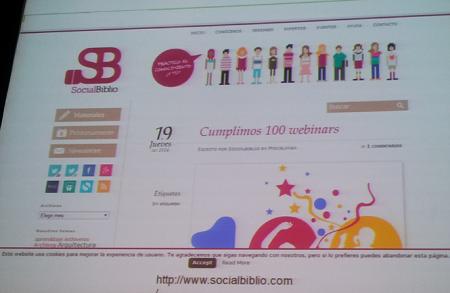 Cumpliendo 100 webinars