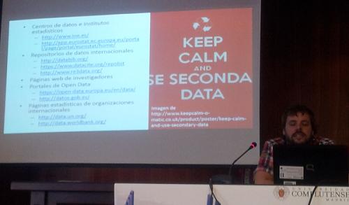 Con la presentación con URLs con fuentes de datos