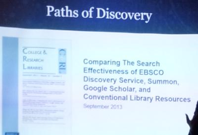 Comparación de varios sistemas de descubrimiento (artículo)