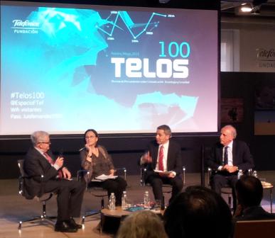 Díaz Nosty, Franquet, Vallés y Rodríguez de las Heras en el escenario