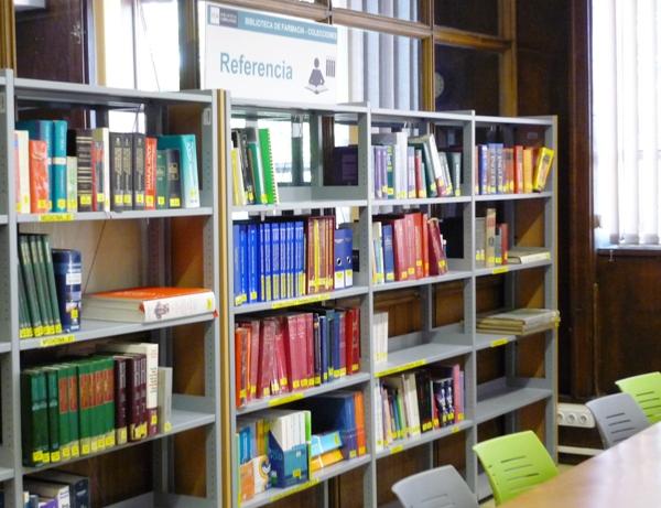 Biblioteca de Farmacia. Cartel de Referencia