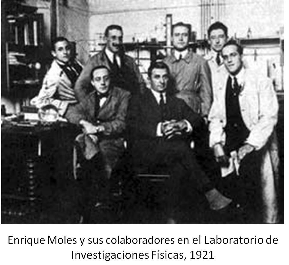 E Moles 1921