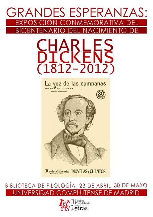 Cartel Exposición Dickens