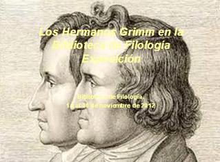 Exposición hermanos Grimm