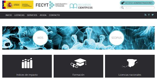 La FECyT crea un portal con acceso a Scopus y Web of Science (La Biblioteca Informa)