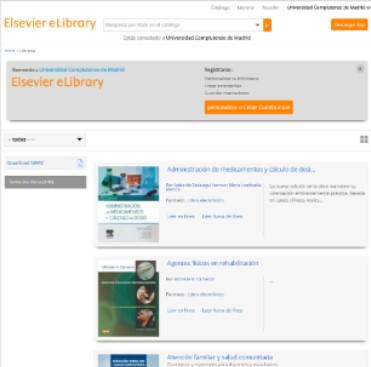 Enlace temporal para el acceso remoto a libros electrónicos de Elsevier Elibrary (La Biblioteca Informa)
