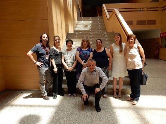 Estancia Erasmus en la BUC de Sara Scarabattieri, Anna Gazepi, María Kycler y Anabela Novais  (20-24 de junio de 2016)