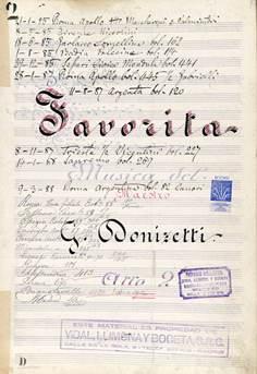 """Microexposición  """"Manuscritos de ópera: El Archivo Vidal Llimona y Boceta"""""""