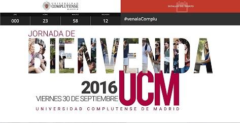 La Biblioteca participa en la Jornada de Bienvenida de la UCM (La Biblioteca Informa)
