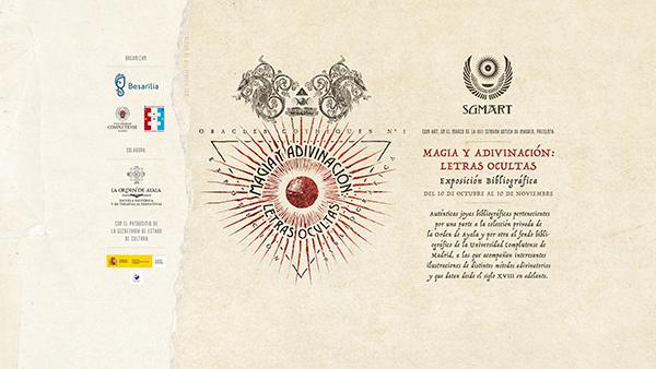 (Prorrogada) Nueva Exposici�n: MAGIA Y ADIVINACI�N, Letras Ocultas (La Biblioteca Informa)