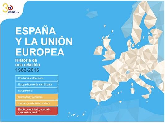 España y la Unión Europea: historia de una relación 1962-2016