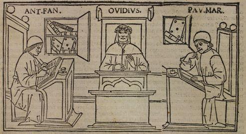 """Microexposición """"Temporibus non est apta corona meis* . Evocaciones de Ovidio en el Bimilenario de su muerte"""""""