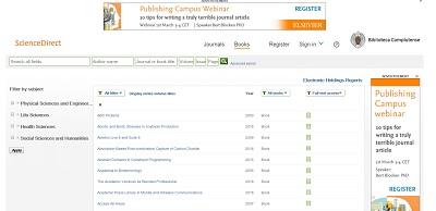 Colección Elsevier Libros: acceso a texto completo a libros electrónicos de 2015 y 2016 (La Biblioteca Informa)