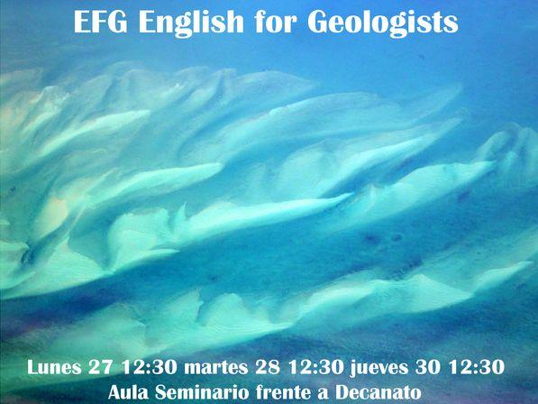 EFG English for Geologists