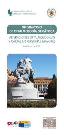 XIII Simposium de Oftalmología Geriátrica (4 mayo 2017, Instituto Castroviejo) (Optoblog)