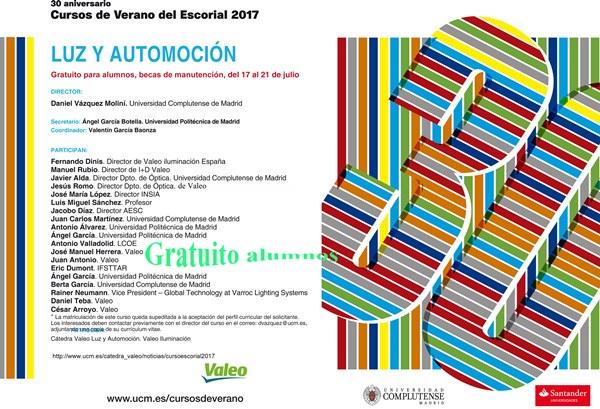 Curso de Verano del Escorial 2017.