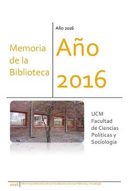 Memoria de la Biblioteca: Año 2016