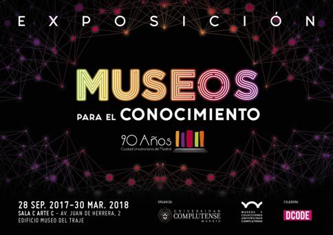 """La Biblioteca Histórica con la exposición """"Museos para el Conocimiento"""" de la Universidad Complutense de Madrid (Folio Complutense)"""