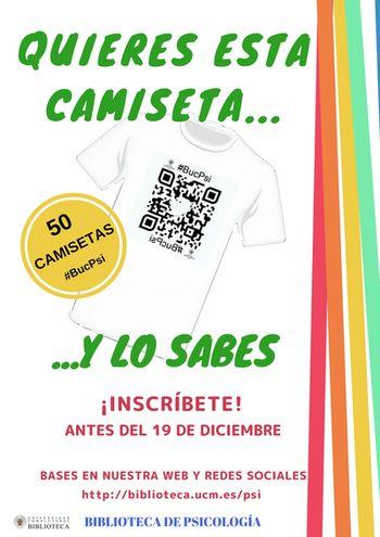 Sorteo de 50 camisetas  #Buc_Psi