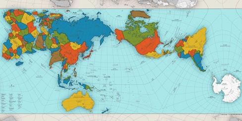 El extraordinario mapa que muestra al mundo como es realmente (Laboratorio documental)