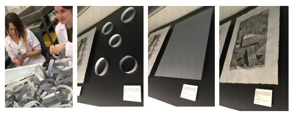 """El montaje de la exposición: """"Piranesi, diseñador y anticuario"""""""
