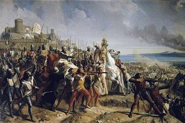Reconquista de Jerusalén por Saladino: inicio de la tercera cruzada