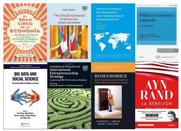 Novedades de la Biblioteca de CC. Económicas y Empresariales 11/2019