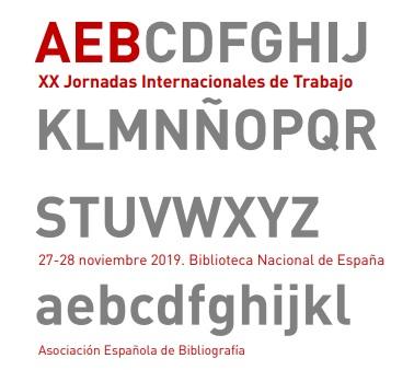 XX Jornadas de Trabajo de la Asociación Española de Bibliografía (Folio Complutense)