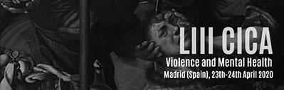 """JORNADAS INTERNACIONALES (CICA) SOBRE """"VIOLENCIA Y SALUD MENTAL"""" (23-24 abril)"""