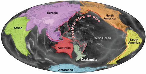 Zealandia: el inacabado resurgir de un continente hundido / Héctor Rodríguez