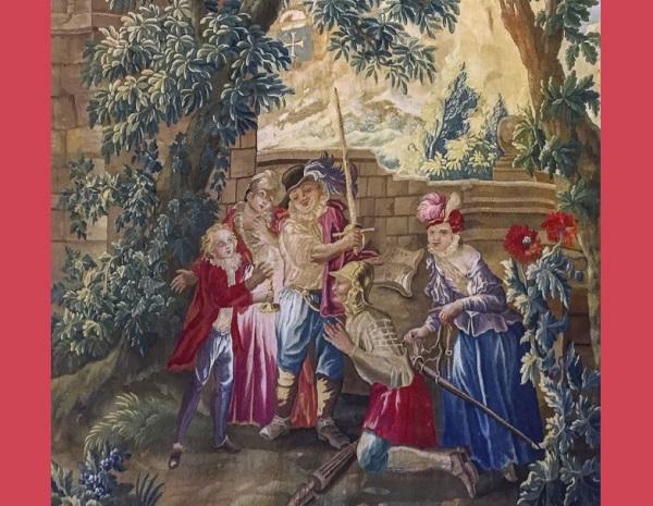 Los tapices de la colección Carmen y Justo Fernández se estrenan en la revista Datatèxtil (Folio Complutense)