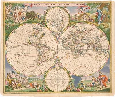 El Ministerio de Defensa incluye en su biblioteca virtual más de 7.000 mapas y planos en dominio público / Julián Marquina