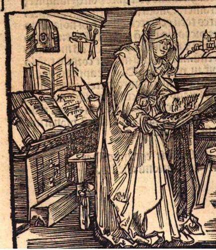 Mujeres en la Biblioteca Histórica: Brígida de Suecia (1303-1373) (Folio Complutense)