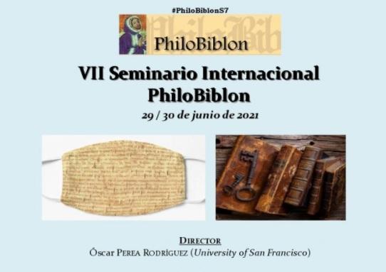 VII Seminario Internacional  PhiloBiblon (Folio Complutense)