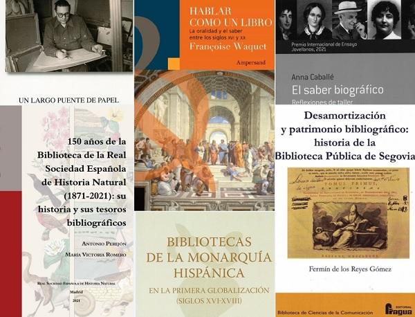 Novedades bibliográficas en la Biblioteca Histórica