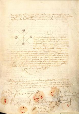Donación de la edición facsímil del testamento del rey Fernando el Católico (22 de enero de 1516) (Folio Complutense)